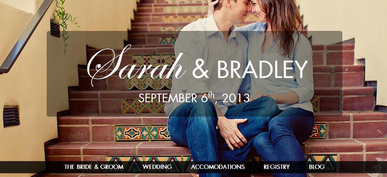 经典的婚礼邀请网站前端模板源码