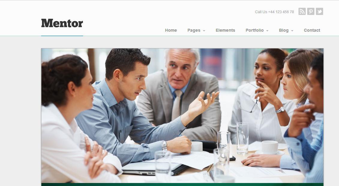 超美观的企业项目网站模板源码