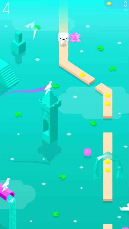 HTML5游戏《无尽小河》完整源码